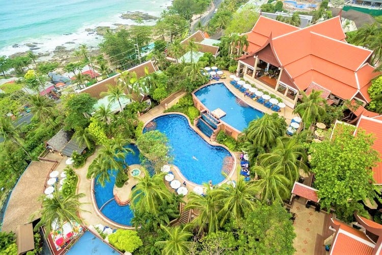 Chill out at the Novotel Phuket Resort in Patong Beach