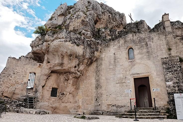 Church Madonna de Idris in Matera