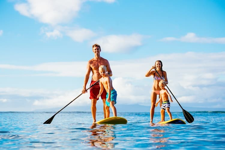 Family Water Sports