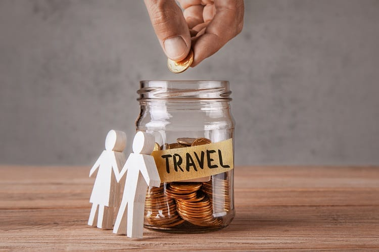 Kids saving for travel