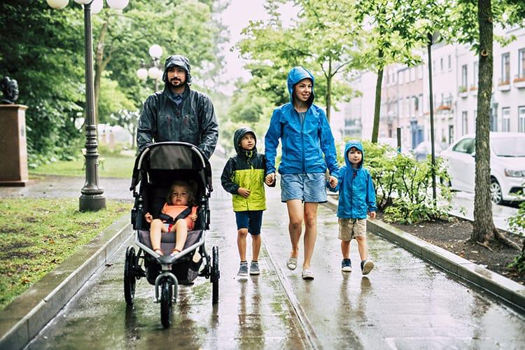 Rain Ponchos vs. Rain Jackets
