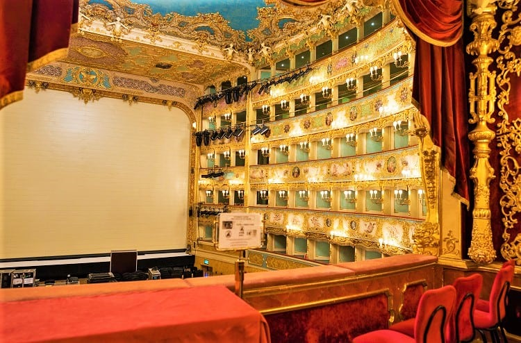 Romantic Things to do in Venice - Watch a show at the La Fenice Theatr