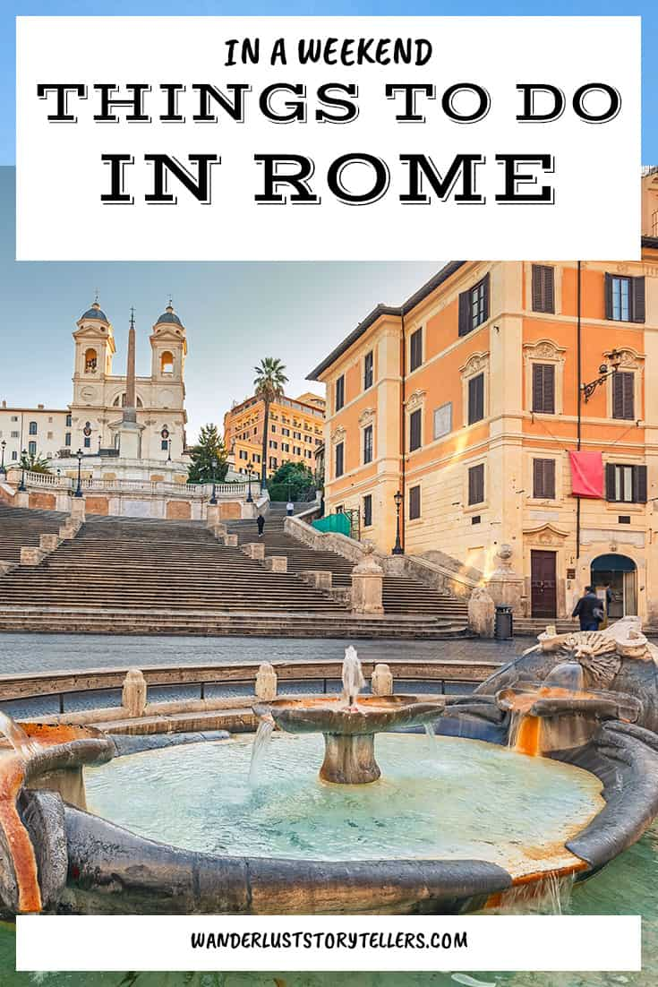 Things to do in Rome in a Weekend