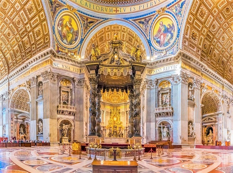 What to see and do on your Roman Weekend - Check out the Basilica of Saint Peters