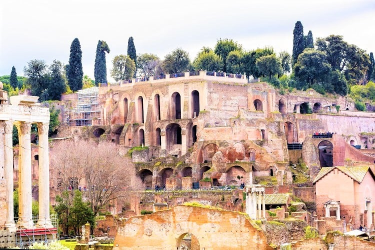 What to see in Rome in a Weekend - Roman Forum and Palantine Hill