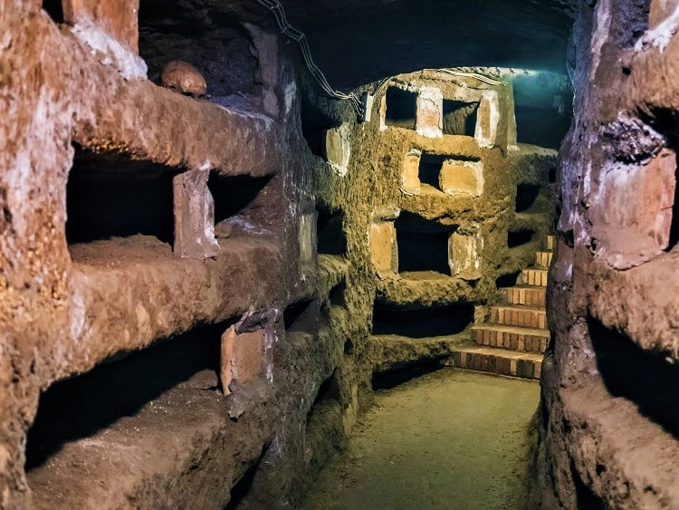 Where to go on your Weekend in Rome - Check out the Roman Catacombs