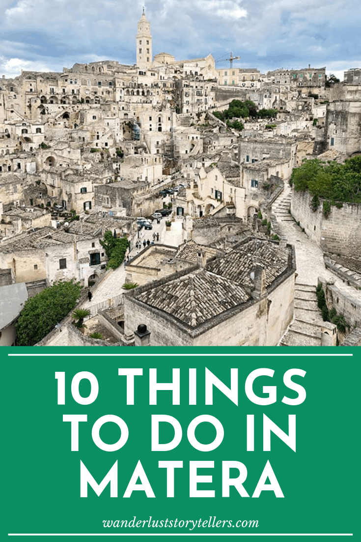 What to see in Matera