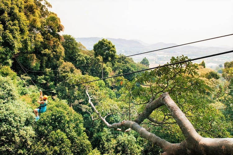 Adventure Things to do in Phuket Thailand - Zip Lining in Phuket