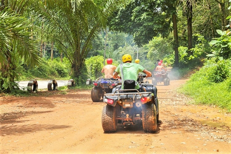 Adventurous Things to do in Phuket Thailand - ATV Rides