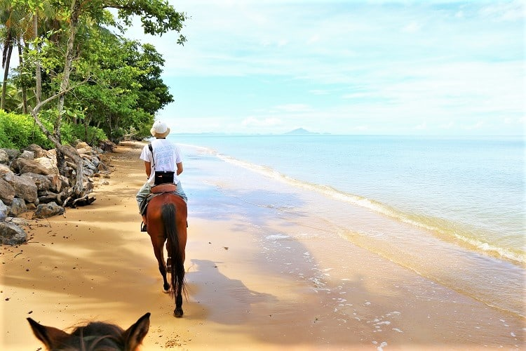 Adventurous Things to do in Phuket Thailand - Horse Riding on the Beach