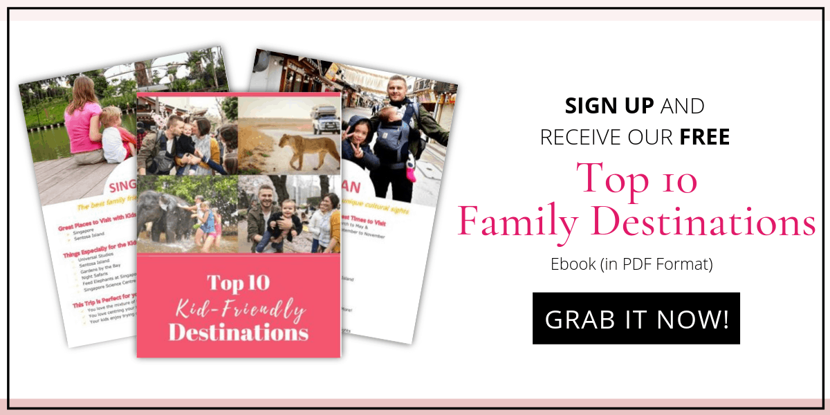 Family destinations Image Optin