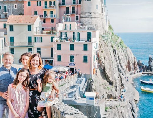 How to sese the five Cinque Terre Towns in Italy - Cinque Terre with Kids
