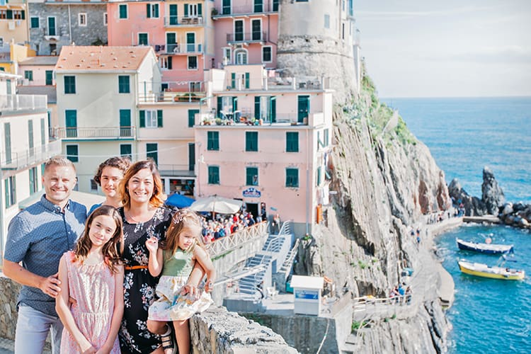 How to sese the five Cinque Terre Towns in Italy