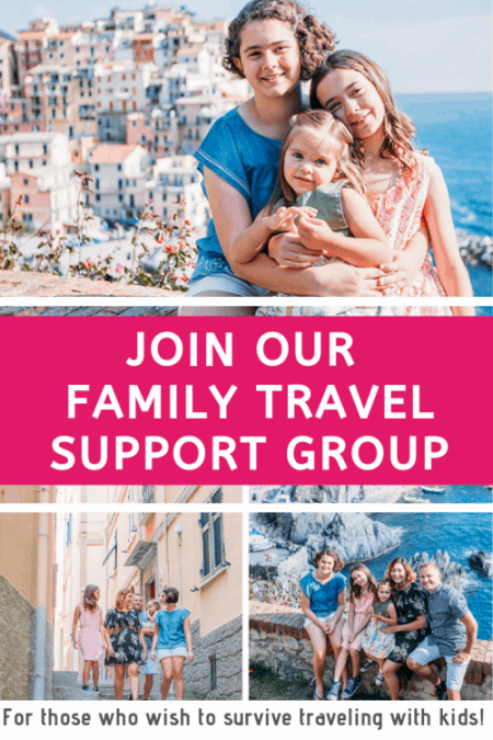 JOIN OUR FAMILY TRAVEL SUPPORT GROUP