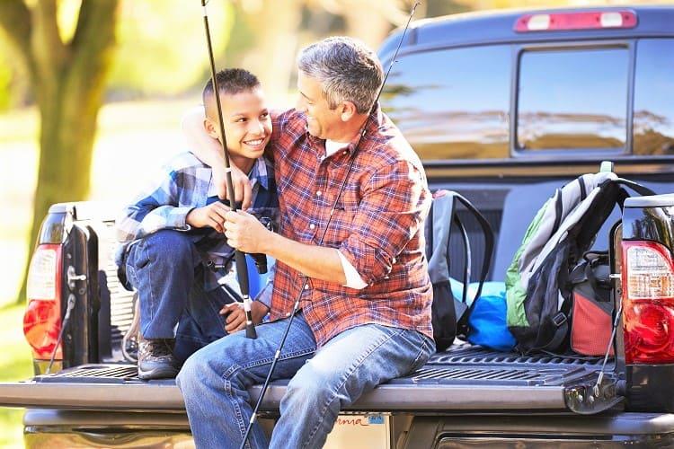Pickup Truck Camping - Family Fun