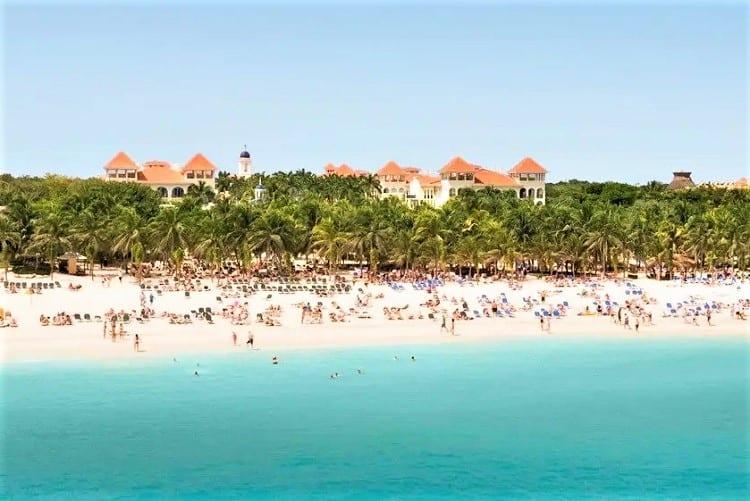 Riu Palace Mexico, Playa del Carmen - beach
