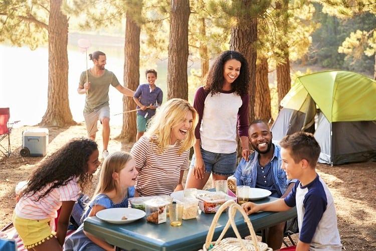 Vacation Hotel Alternatives - Camping