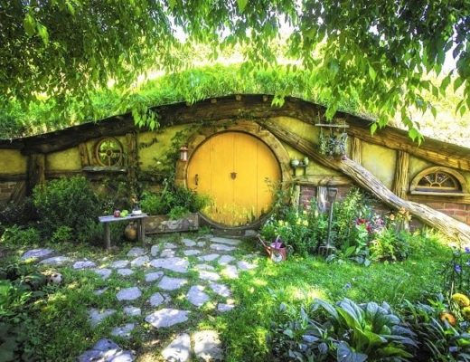 Check out the Hobbiton Movie Set