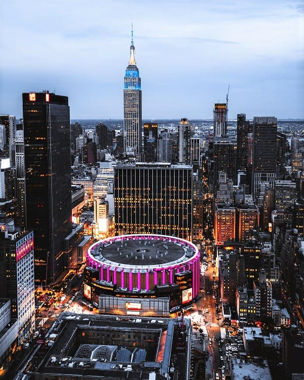 Madison Square Garden - Best Travel Destinations for Sports Fanatics