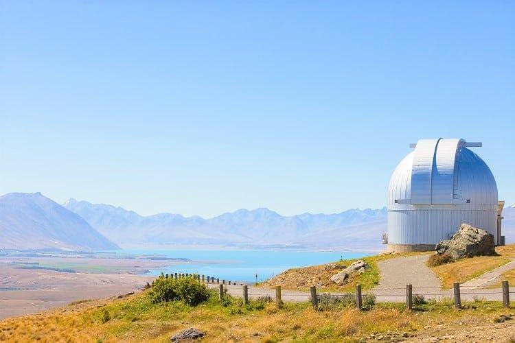 Mount John Observatory by Lake Tekapo