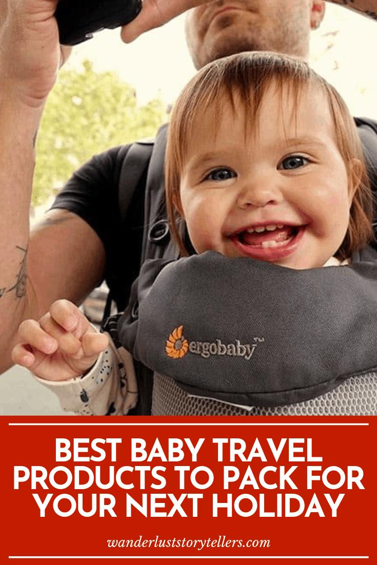 Que prendre pour un bébé en voyage