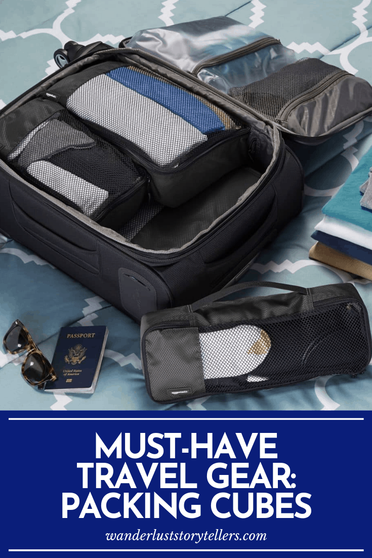 must have travel packing cubes