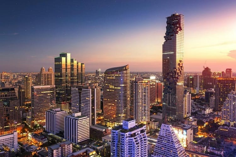 Mahanakhon SkyWalk - Things to do with kids in Bangkok