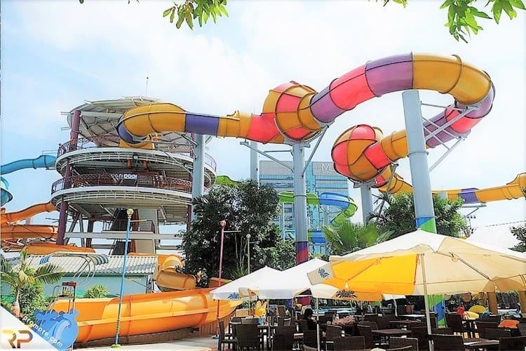 Visit Pororo AquaPark in Bangkok with Kids