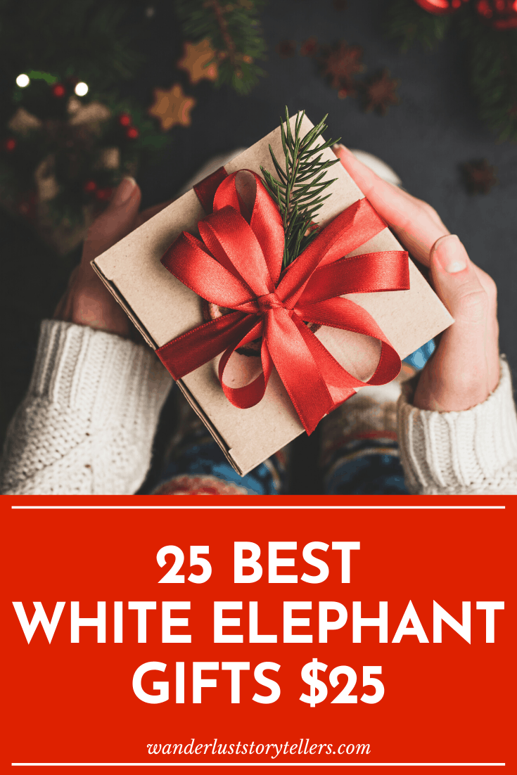 25 White Elephant Gifts $25 and Under