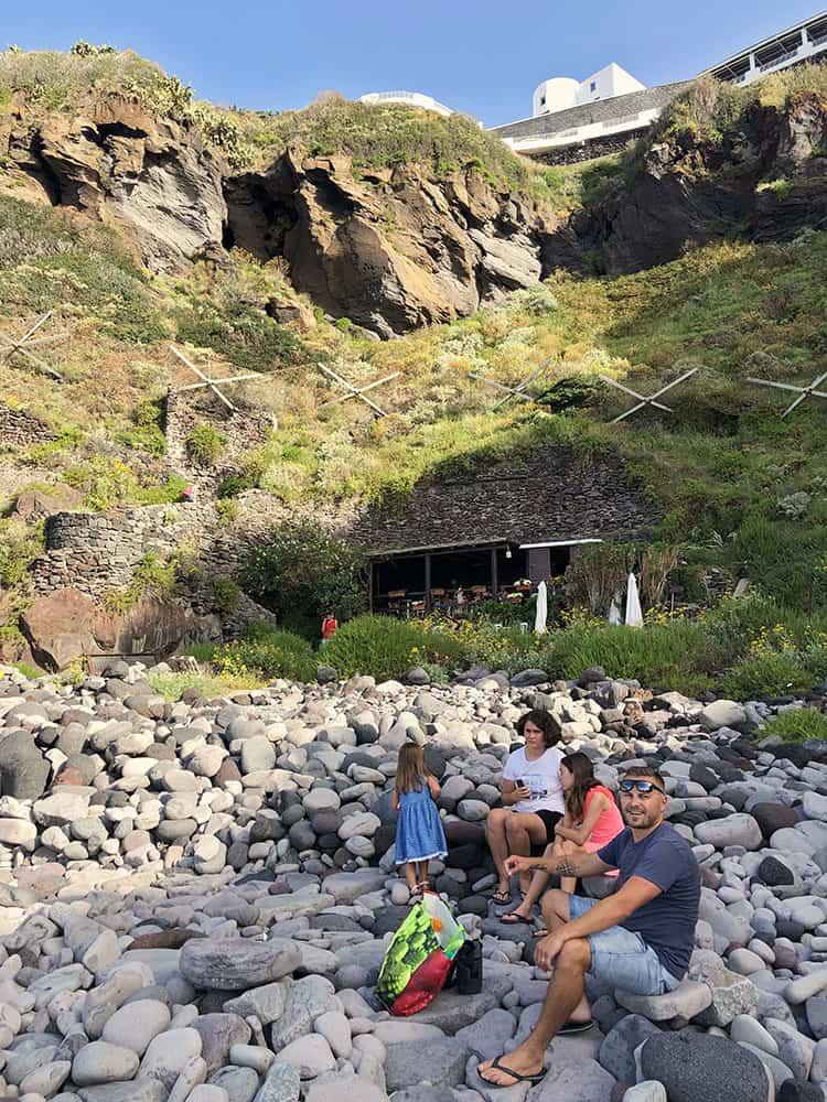Malfa Beach Salina Island