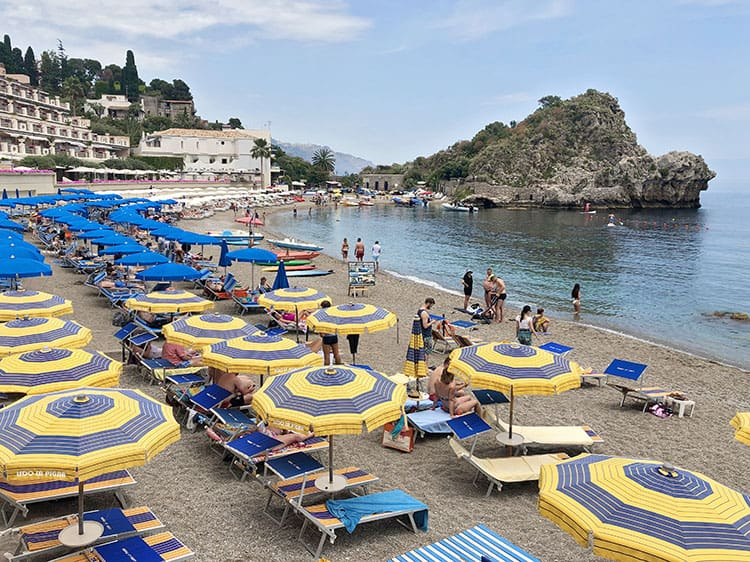Mazzaro Beach Taormina