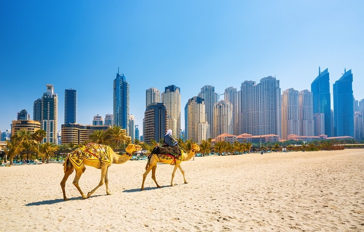 Check out Dubai Beaches on your 3 Day Trip to Dubai