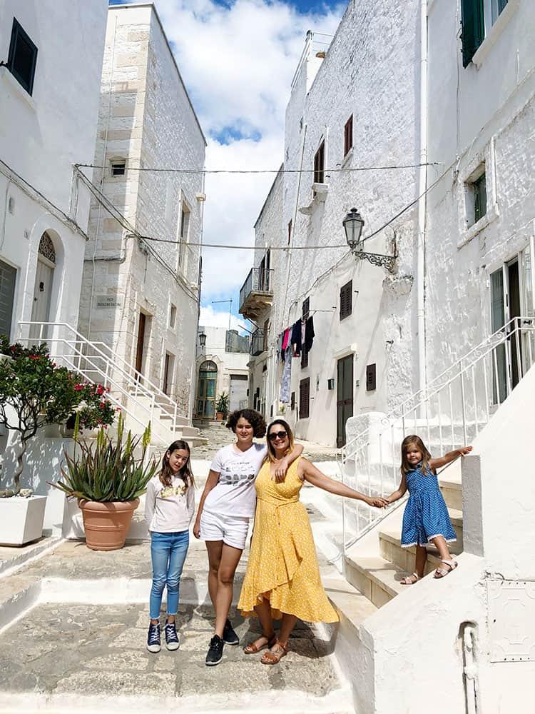Ostuni Old Town Puglia