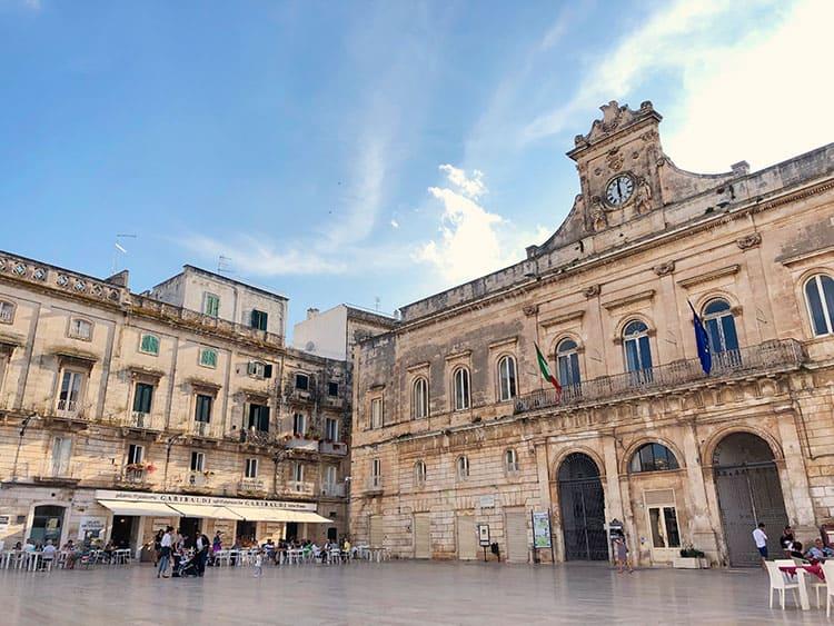 Piazza Della Liberta Ostuni