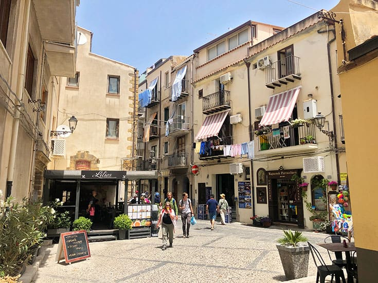 Stroll through Picturesque Cefalu Streets
