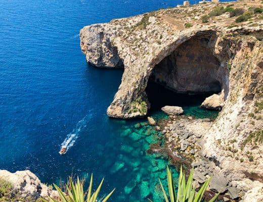The Blue Grotto Gozo Malta