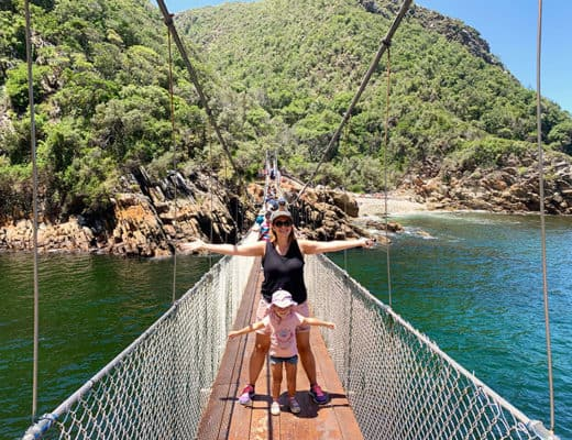 The best Garden Route itinerary including Tsitsikamma National Park