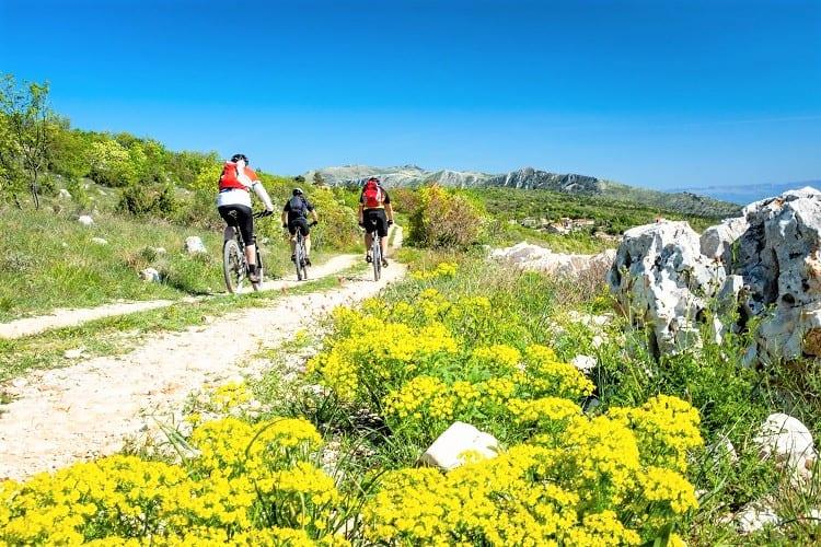 Cycling in Istria, Ucka Park