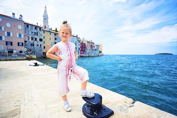 Istria with kids, Rovinj Croatia