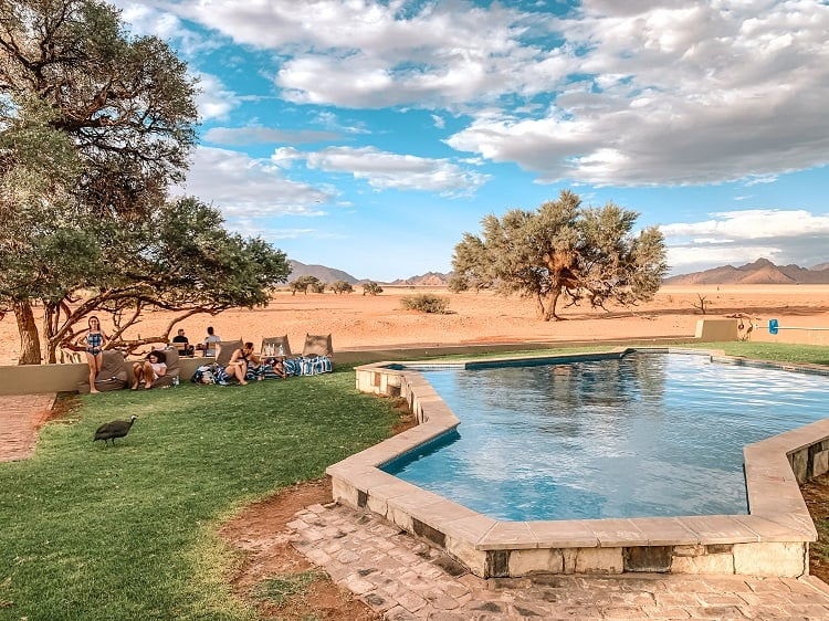 Accommodation in Sossusvlei with Kids - Namibia Travel with Family
