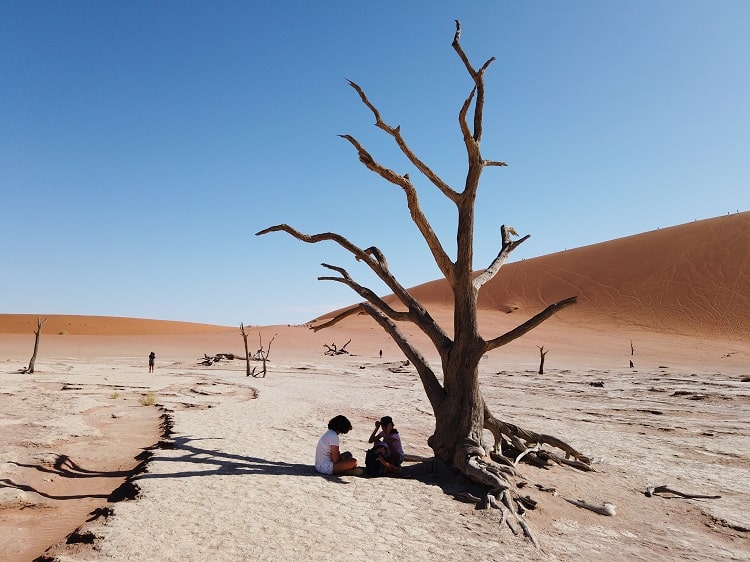 Deadvlei with Kids - Namibia Travel with Kids
