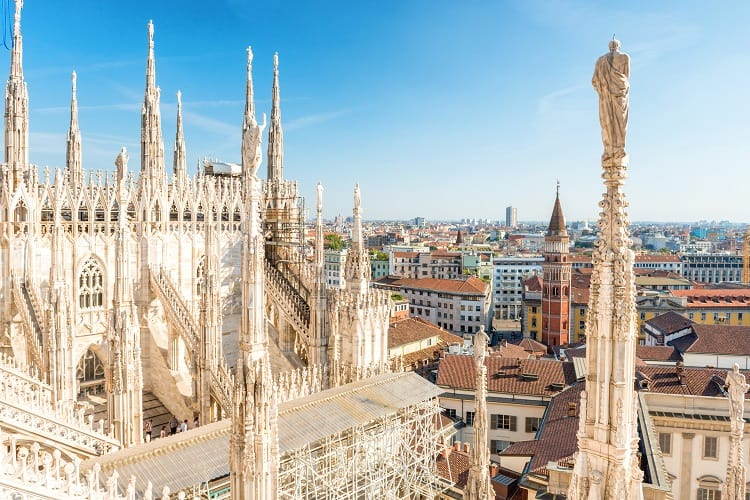 Milan - Northern Italy Itinerary