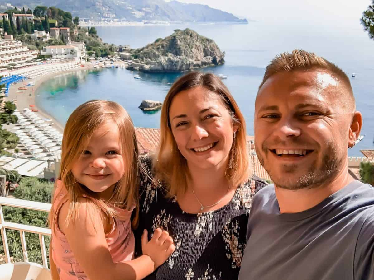 Taormina with Kids