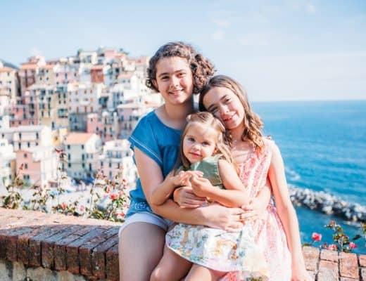 Manarola with Kids, Cinque Terre in Italy