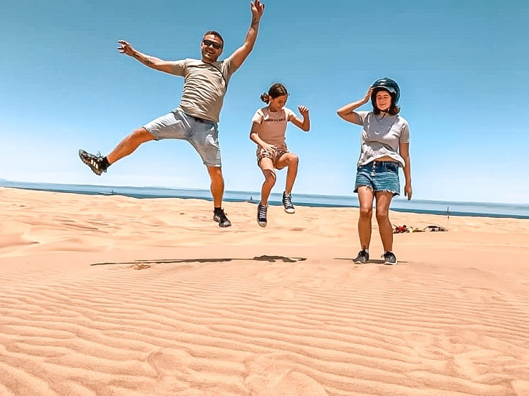What to do with Kids in Swakopmund - Daredevil Adventure - Riding on Dunes