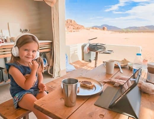 Where to Stay in Sossusvlei with Kids - Dessert Quiver Camp Namibia