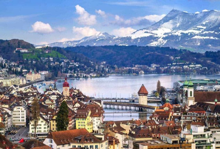 Lucerne, Switzerland most beautiful places