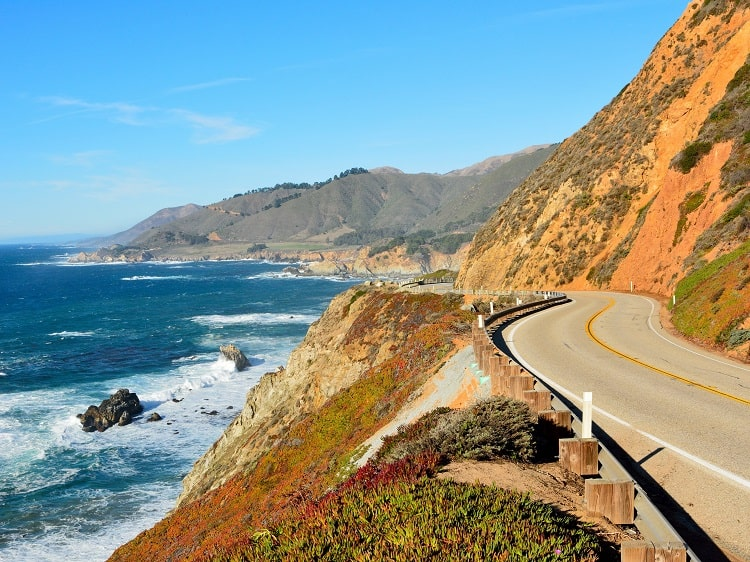 Road Trip Pacific Coast Highway California