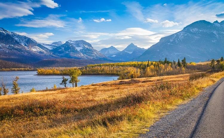 Road Trip Sun Road in Glacier National Park Montana U.S.