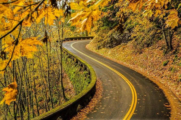 Road Trip the Old Columbia Highway in Oregon U.S.